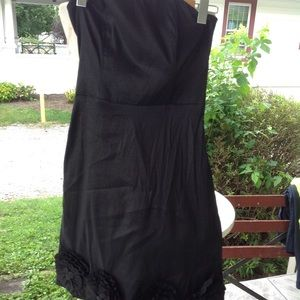 Strapless Romeo & Juliet dress.